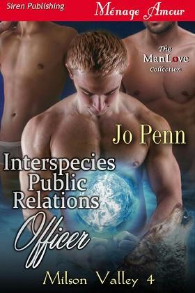 Jo Penn - Interspecies Public Relations Officer Cover