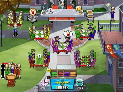 Diner Dash 5 - Boom! ภาพตัวอย่าง 02