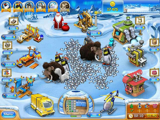 Farm Frenzy 3 - Ice Age ภาพตัวอย่าง 03
