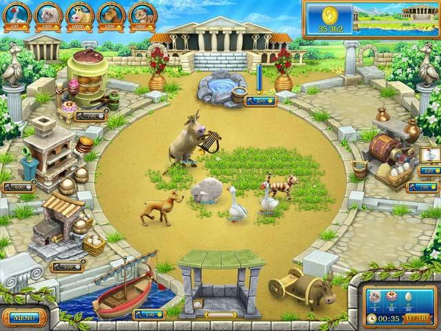 Farm Frenzy - Ancient Rome ภาพตัวอย่าง 02
