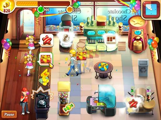 Chocolate Shop Frenzy ภาพตัวอย่าง 01