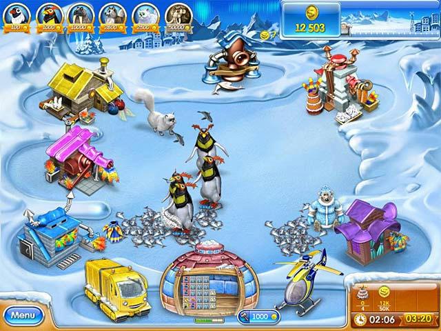 Farm Frenzy 3 - Ice Age ภาพตัวอย่าง 01