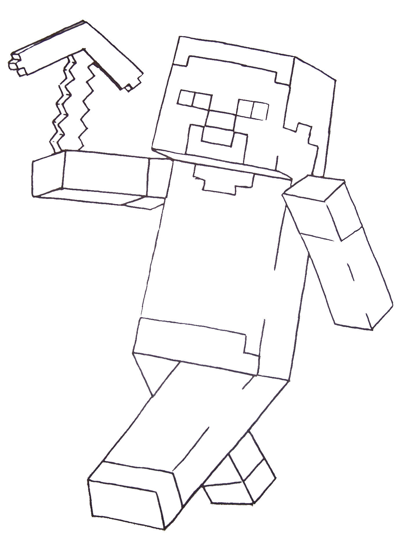 Coloring Pages Minecraft Activities