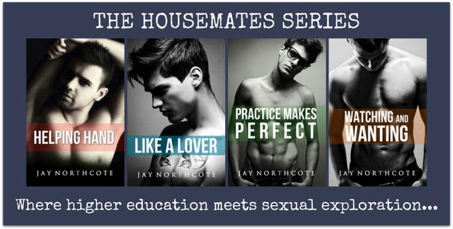 Jay Northcote - The Housemates series banner