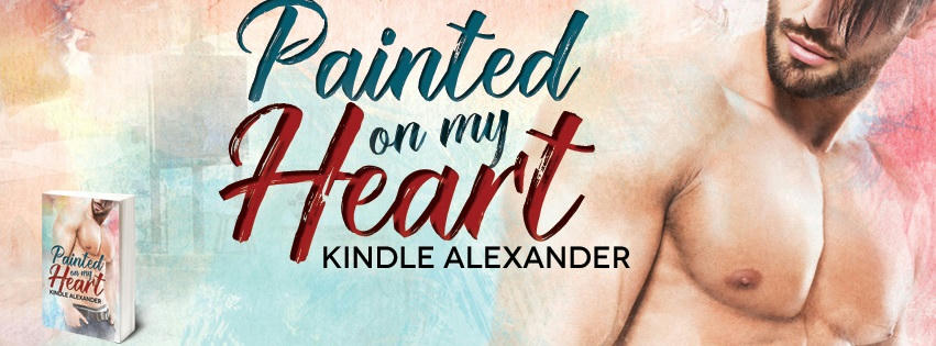 Kindle Alexander - Painted On My Heart Banner