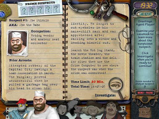 Mystery Case Files - Prime Suspects ภาพตัวอย่าง 01