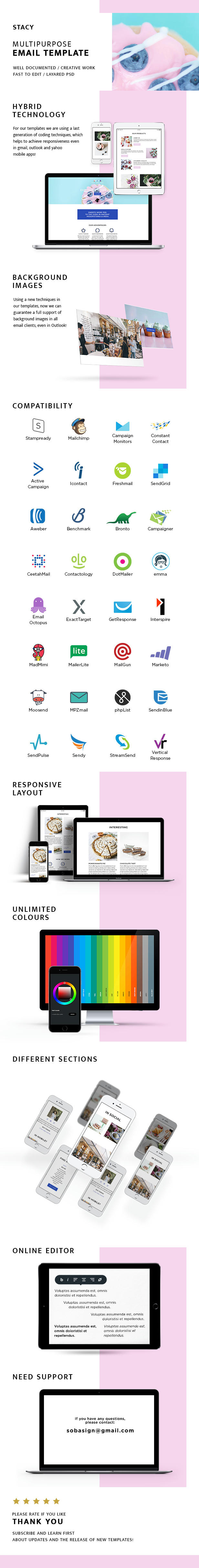 Preview stacy – responsive email + stampready builder (email templates) Stacy – Responsive Email + StampReady Builder (Email Templates) 6h66dc2sjfh982azg