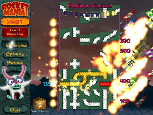 Rocket Mania ภาพตัวอย่าง 02