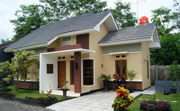 Contoh Rumah Model Type 45 Minimalis Modern Creo House
