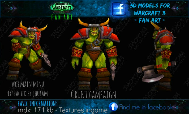 "[SuperMega-Pack] 3D Models for ""Warcraft 3"". I9bxiawswqs3cdvzg"