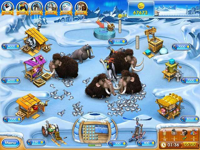 Farm Frenzy 3 - Ice Age ภาพตัวอย่าง 02