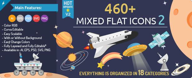 460 Mixed Icons 2