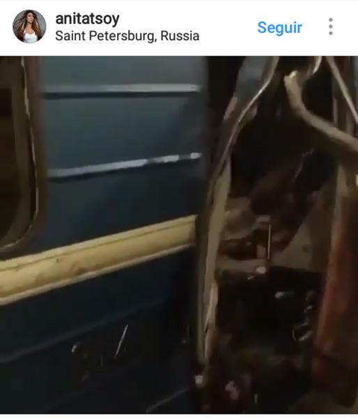 Terrorista suicida vinculado a Siria sería autor de ataque en San Petersburgo