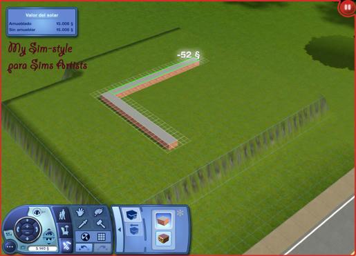 Tutorial sobre cimientos  [Los Sims 3] [Dificultad: media] 0133ec156457657754b26afe45034b514g