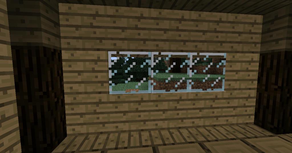 Mincraft Craft Wood Wall