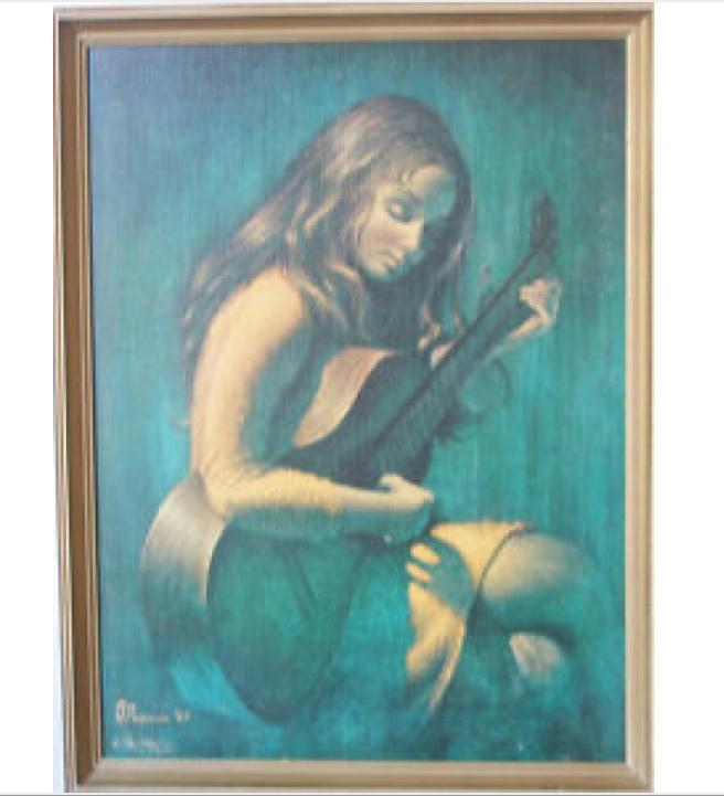 Stephen Pearson Print...A girl with a guitar. 166c65fa60549285e63243682cb2876fbacd487c1e2cc06f3bb3afeedc34671e6g