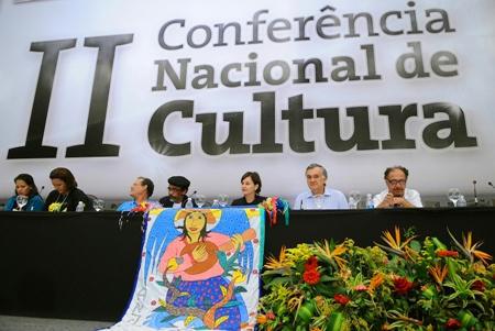 II Conferência Nacional de Cultura, em março de 2010 (Foto: Wilson Dias/ABr)