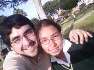 Con mi hermana Yaritza