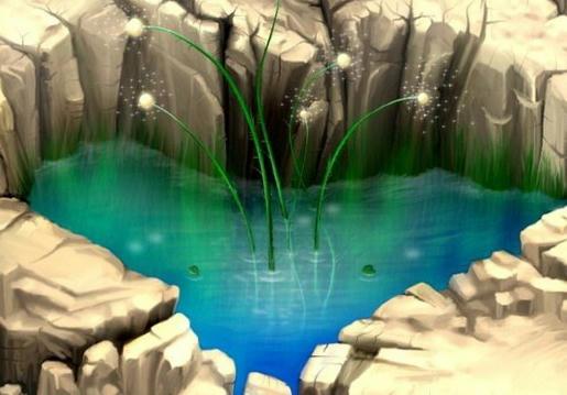 jezero v srdci