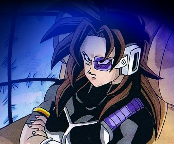 La mamá de Goku y Saiyajines mujeres