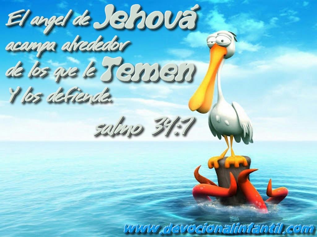 El ángel de Jehová – Wallpapers Infantil