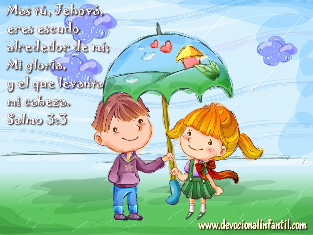 Jehová eres escudo al rededor de mi – Wallpapers | Devocional ...