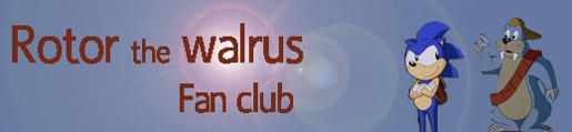 Rotor the Walrus Fan Club homepage