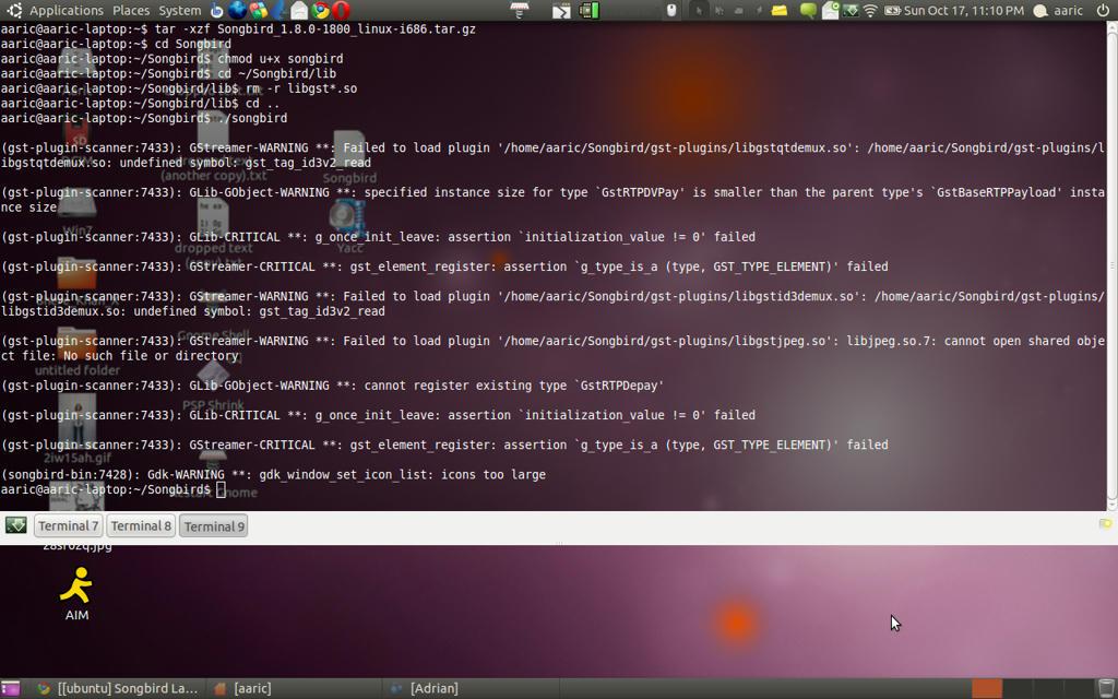 ubuntu] Songbird Launcher help - Page 5