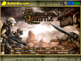 Indonesian Flash Games Download – Humaliens Battle