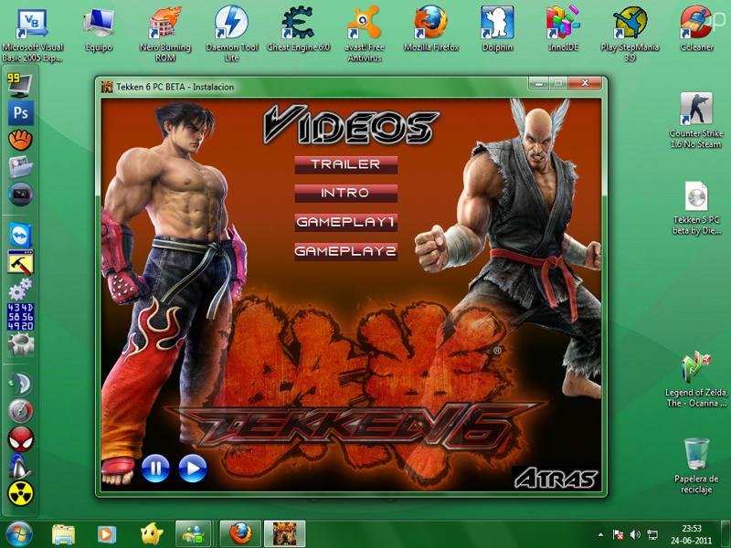 Descargar Tekken 6 PSP Para A PC Megaupload 1 Link