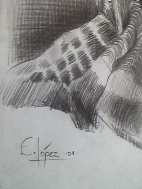 Mi Dibujo a Lapiz Carbon [ el Primero ]