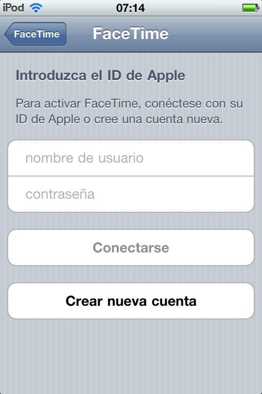 Para los usuarios de Ipod Touch 4G