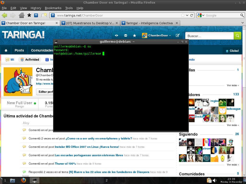 • [OT] Muestranos tu Desktop V 4.4