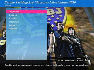 Nuevo parche Clausura Argentino+ Libertadores y Sudamericana 2010 66b10ce88733ceca1a57b99ef76711744g