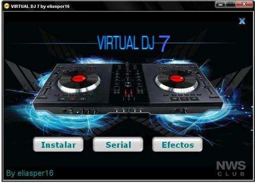 Descargar virtual dj 7 pro full con crack y serial.