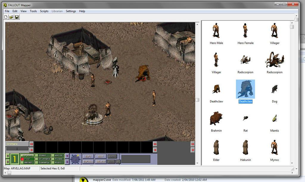 Fallout Tactics Hi-Res Patch v1.0. Scaling the original bar doesn't l