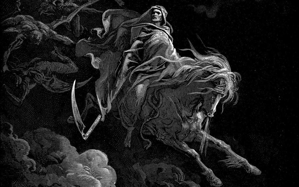 Imagenes Dark De La Muerte O parca