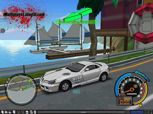 بازی آنلاین چند نفره رایگان Drift City