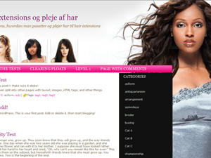 Permanent Link to Hair salon blog