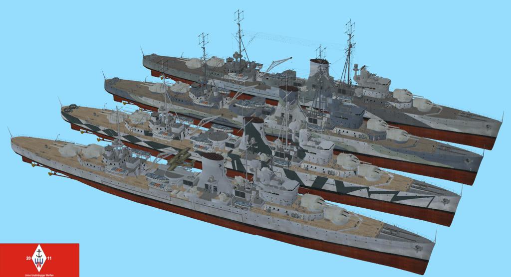 Rel  Leander Class Light Cruisers