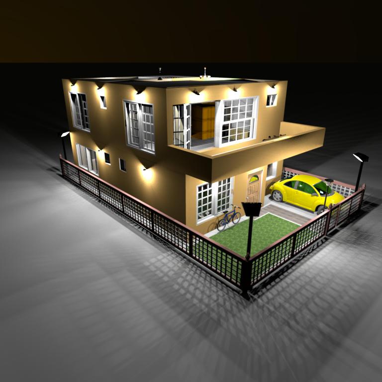 Sweet Home 3D Forum - View Thread - My dream home - A duplex
