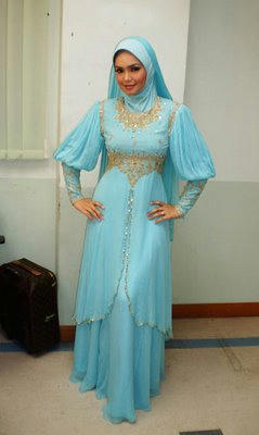 For example, used as inner for transparent abaya as below pic.
