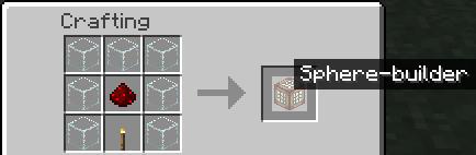 Minecraft Sphere Builder