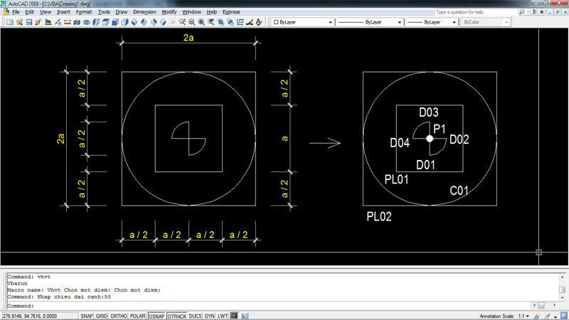 Thực hành lập trình VBA trong AutoCAD | Hội dự toán nhà nghề