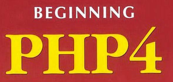 Beginning PHP4 in simple steps