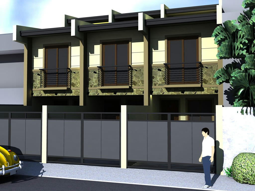 The Best Gate Townhouse In The Philippines Joy Studio