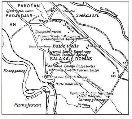 Peta BOGOR Baheula