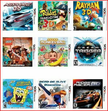 Toys R Us 3DS Games