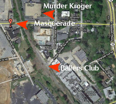 Kirkwood Ballers Club Map