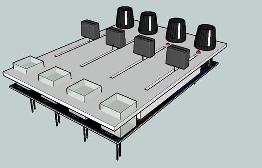 Midi controller shield for arduino